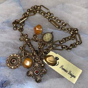Premier Designs Vintage Charm Bracelet NWT